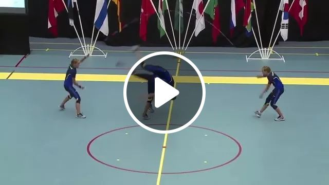 men together jump rope and tumble