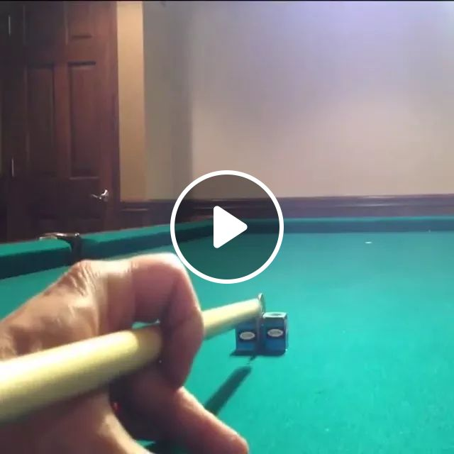 Play billiards with a coin