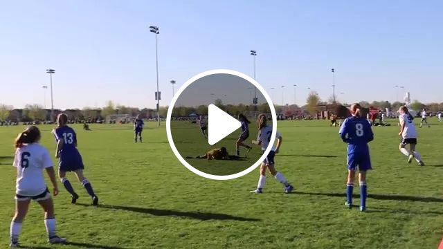 Football referee is very fast to avoid ball