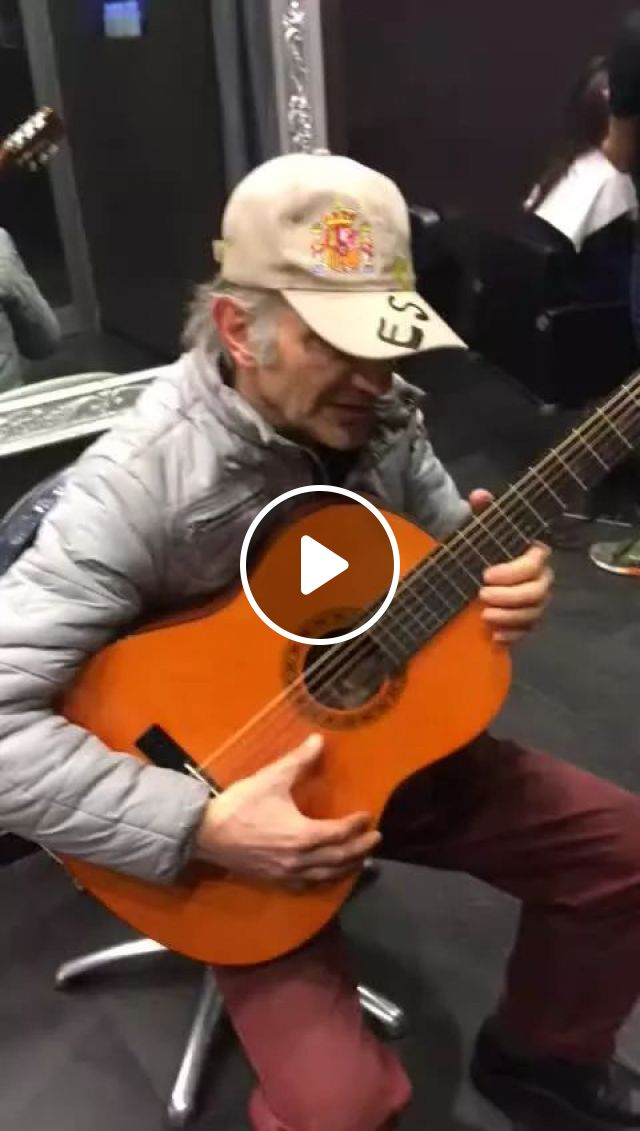 old man performed great guitar, guitar, cowboy, melody, performance, talent, good, old man