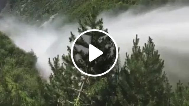 Power of water, hydroelectricity, water, discharge, power, nature, China travel