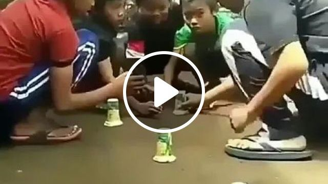 kids quickly took toys from plastic cups, Kids, fast, kids toys, plastic cups