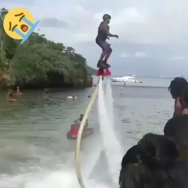 Water sport is very interesting