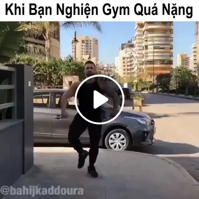 Men Like Gym Everywhere In City - Video & GIFs   Healthy men, sports clothes, American travel, luxury restaurant, luxury vehicle