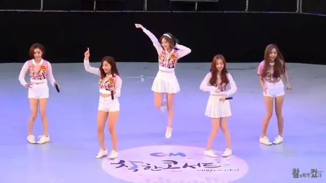 Girls with dance are very cute